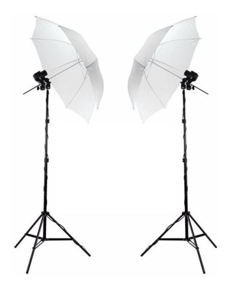 Kit De Iluminação Luz Continua Estudio Fotografico Soq Dupl