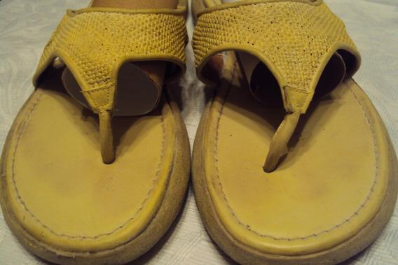 Sandalias*ojotas Uriel Nº 38 Amarillas