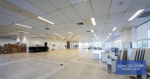 Laje Corporativa Para Alugar, 1000m² - Limão - São Paulo/sp - Lj0536