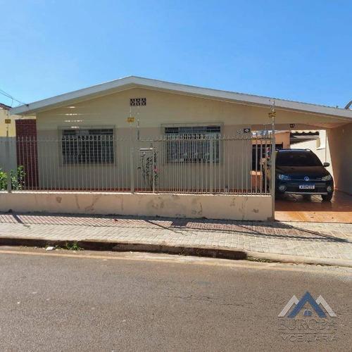 Casa Para Alugar, 130 M² Por R$ 2.500,00/mês - Aurora - Londrina/pr - Ca1492