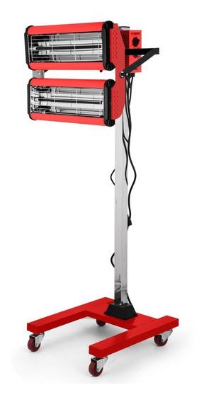 Lámpara Infrarroja Para Secado De Pintra 2x1000w