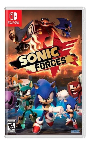 Sonic Forces - Nintendo Switch - Novo - Mídia Física