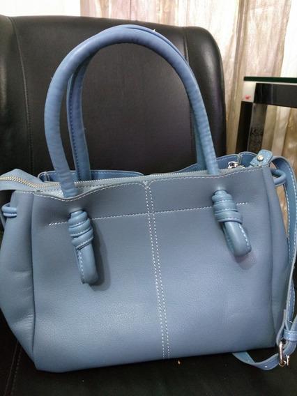 Bolsa Zara Azul