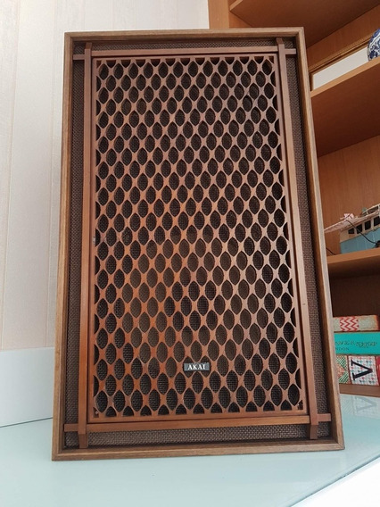 Akai Sw-156 Caixas De Som Acústicas Em Perfeito Estado