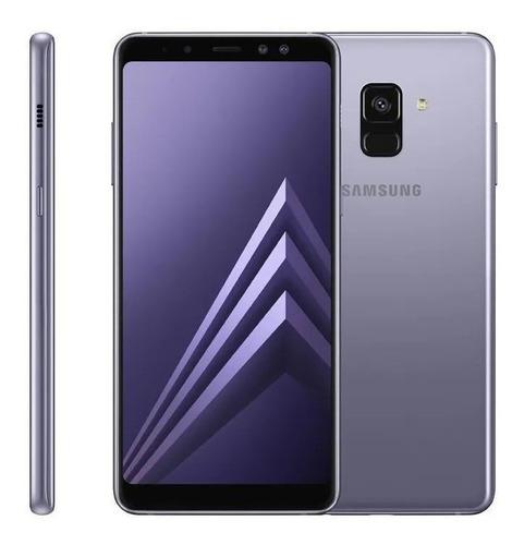 Smartphone Samsung A8+ -tela 6 -64gb Memória -16mp Ametista