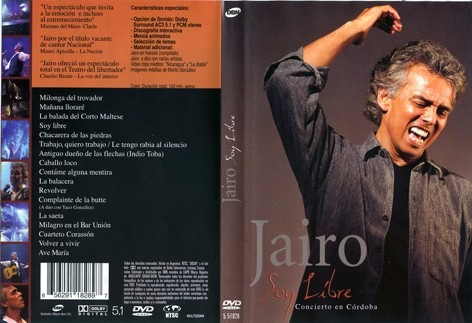 Jairo - Soy Libre Dvd - Db