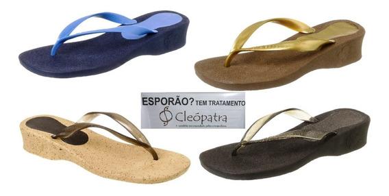 Sandália Ortopédica Cleópatra P/tratamento De Esporão!