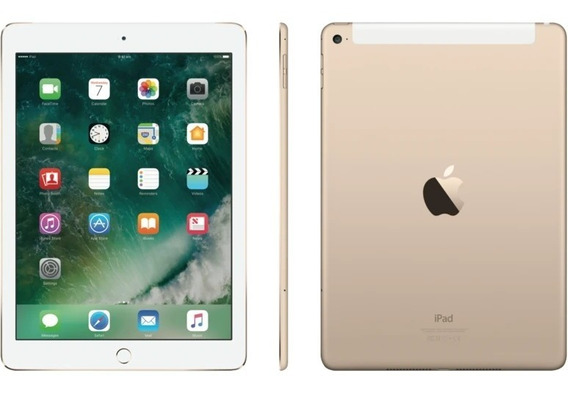 iPad Air 2 Apple Wi-fi 4g 16gb Dourado De Vitrine