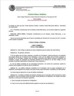 Codigo Penal Federal 2008