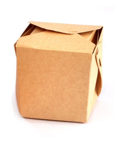 Imagen 1 de 3 de Cajas Para Wok Y Comida China  Pack X 250 U Envio Gratis!!!