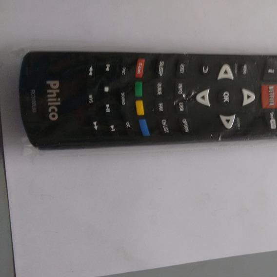 Controle Remoto Tv Philco Led C Netflix.original