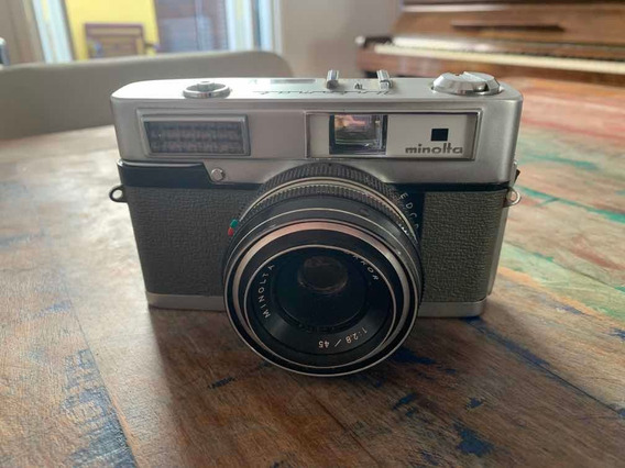 Máquina Fotográfica Minolta Uniomat (antiguidade)