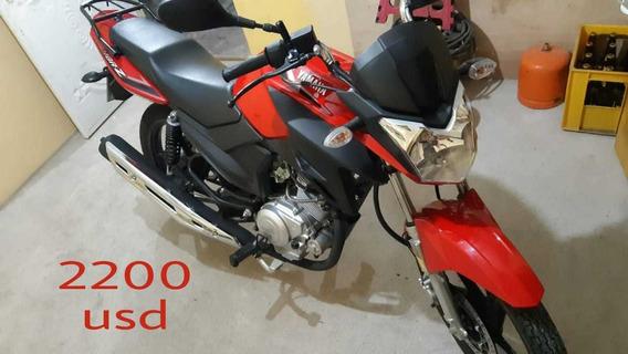 Motocicleta Yamaha Modelo Ybr125e