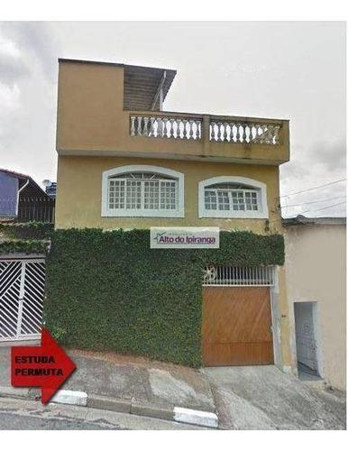 Sobrado Com 3 Dormitórios À Venda, 194 M² Por R$ 649.000,00 - Vila Vera - São Paulo/sp - So0784