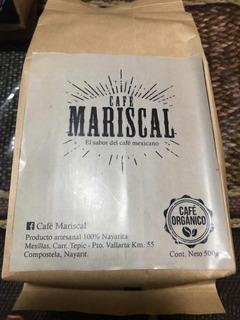 Cafe Mariscal Café 100% Orgánico 10 Bolsas De 1/2 Kilo