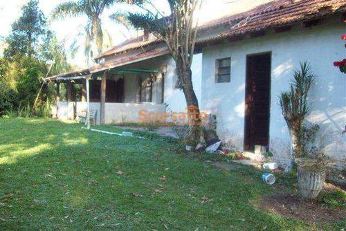 Chácara Com 6 Dorms, Potuverá, Itapecerica Da Serra - R$ 380 Mil, Cod: 1618 - V1618