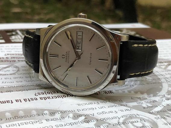 Reloj Omega Geneve Automático Vintage Excelente