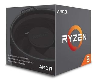 Cpu Amd Ryzen 5 2600x Am4 Box - Nuevo - Garantía -