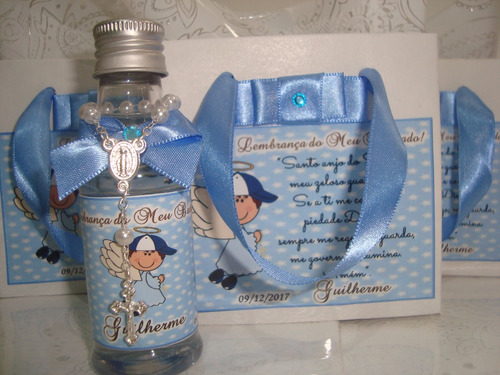 Imagem 1 de 8 de 17 Garrafinha Água Benta Personalizada Na Sacolinha Tercinho