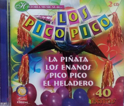 Los Pico Pico - Historia Musical 2cds Nuevos. Leer Las Polít