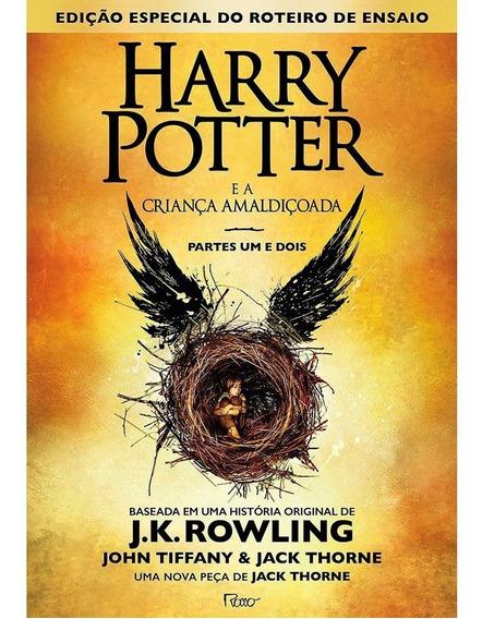 Harry Potter E A Criança Amaldiçoada 1 E 2 Livro 8 Capa Dura