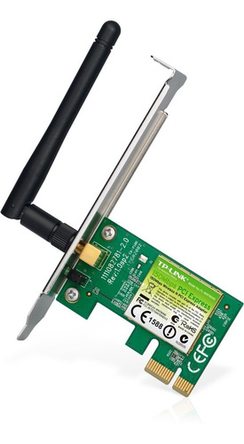 Placa Wireless Tp Link Pci Exp 1x Tl Wn 781nd Ant Desm 2dbi