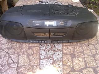 Equipo De Música Panasonic Cassette Cd Radio
