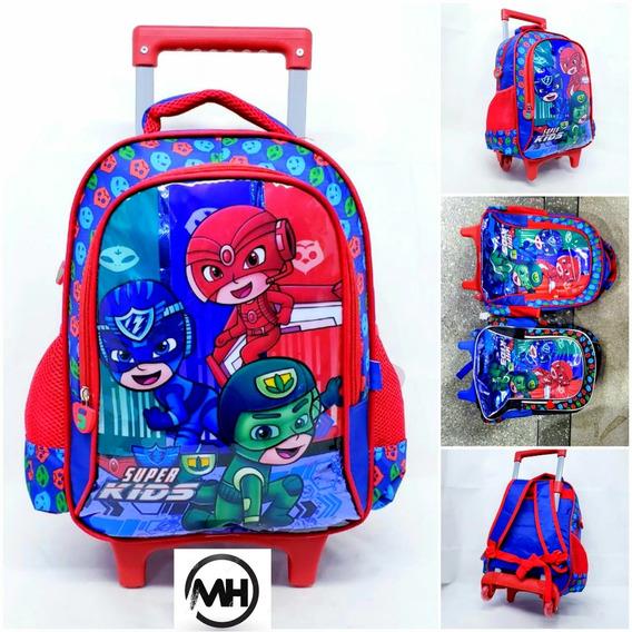 Mochila Rodinha Escolar Infantil Tam Media Super Kids
