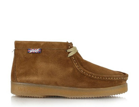 Botin Mujer Hush Puppies Sioux Root Beer