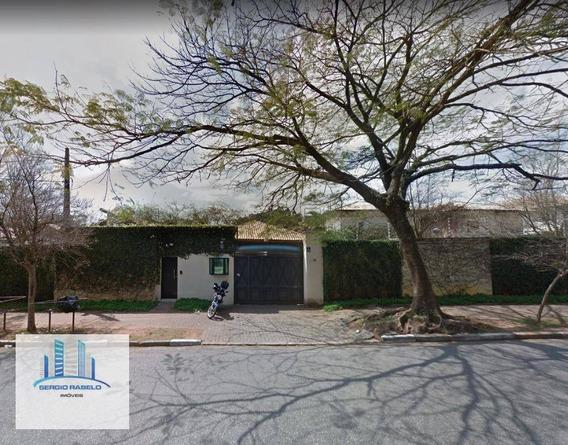 Sobrado Residencial Com 3 Suítes/ 540 M² À Venda Na Rua Doutor Flávio Américo Maurano - Morumbi, São Paulo/sp - So0059