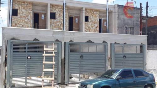 Sobrado Com 3 Dormitórios À Venda, 75 M² Por R$ 420.000 - Aricanduva - São Paulo/sp - So0443