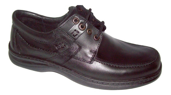 Zapato De Cuero Hombre Base Febo Cosido