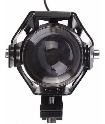 1 Un. Farol Milha Ultra Led U5 6k Universal Moto Tipo Xenon