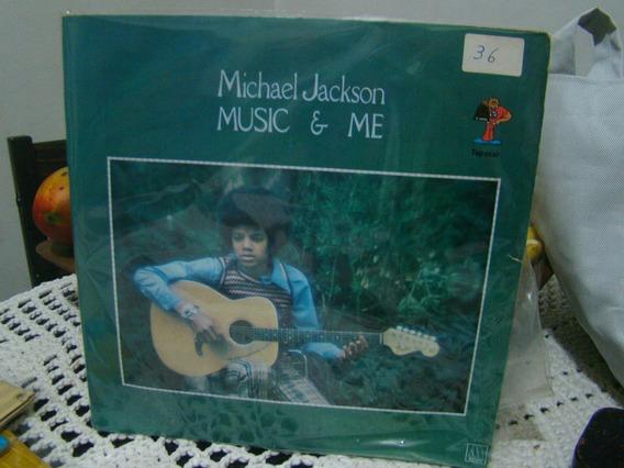 Lp Michael Jackson , Music & Me