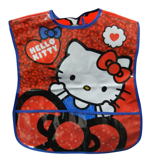 Delantal Pintorcito Infantil Hello Kitty Original Cresko