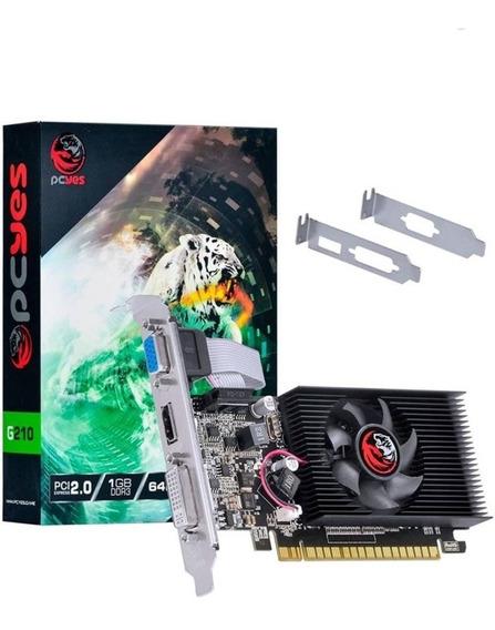 Placa De Vídeo G210 Nvidia 1gb Ddr 3 Pc Yes
