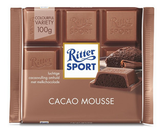 Chocolate Ritter Sport Relleno Con Mousse 100 G.