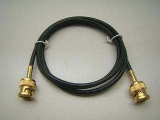 Cabo E1 Bnc X Bnc 1 M Patch Cord 75 Ohms 0,4/2,5 T 16 Pç