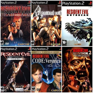 Lote Resident Evil Para Ps2