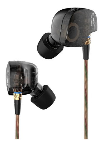 Audifonos Microfono Alta Fidelidad Superbass Metal Kz Ate