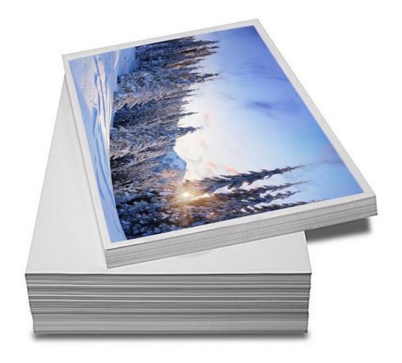 Papel Fotográfico Premium A4 Glossy 115g 1000 Folhas Premium