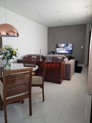Cobertura Com 3 Dormitórios À Venda, 60 M² Por R$ 430.000 - Jardim Santo Antônio - Santo André/sp - Co0661