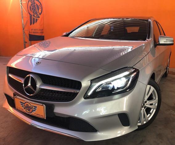Mercedes Classe A 200 1.6 Tb/flex Aut. - Prata - 2018