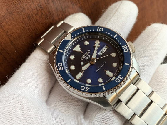 Relógio Seiko 5 Sports Automatic Blue Srpd51