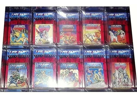 10 Cajas Exhibidoras Para Figuras He-man Vintage 80s Super 7