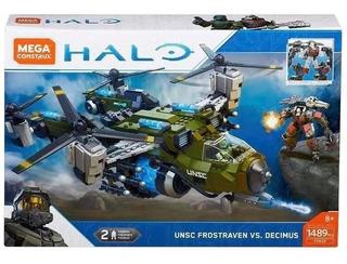 Halo Unsc Frostraven Vs.decimus 1489pzs Mega Construx