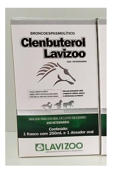 Clembuterol Gel Lavizoo 250ml 250ml Original Envio Imediato