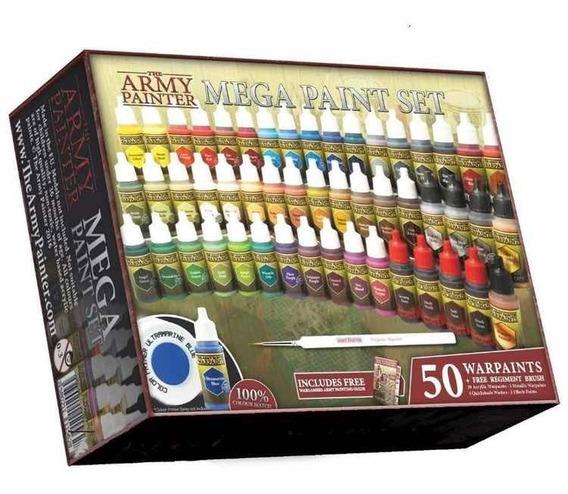 Set De Pintura De The Army Painter 50 Warpaints