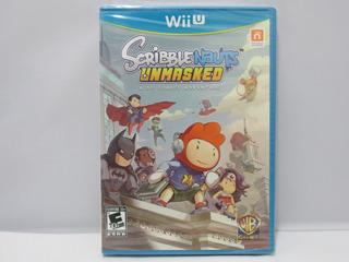 Scribblenauts Unmasked A Dc Comics Adventure Wii U