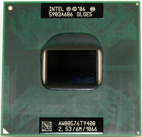 Processador Intel Core 2 Duo T9400 Cache 6mb 2.53ghz Laptop